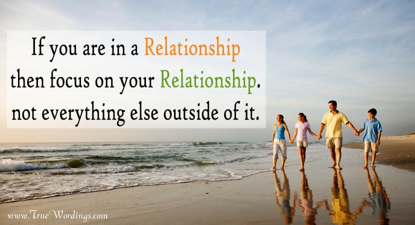 message for strong relationship