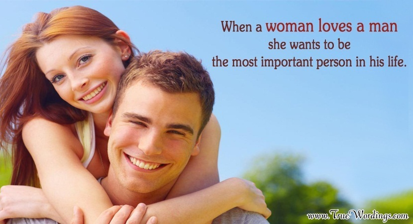 A woman loves how Guys, Here's