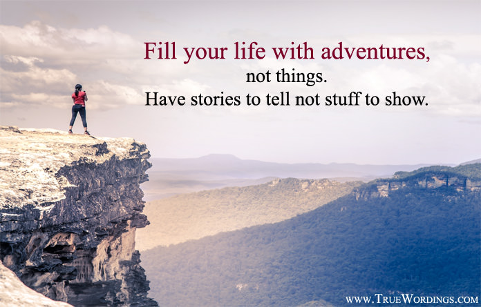 Life with Adventures Quotes