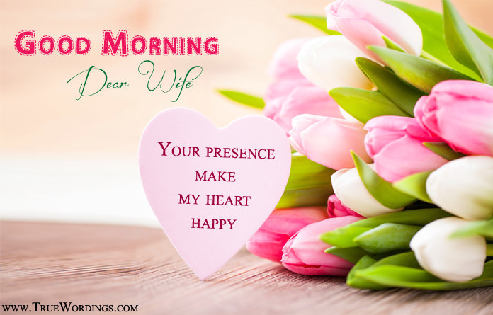 Romantic Good Morning Quotes For Wife My Love Images For Better Half