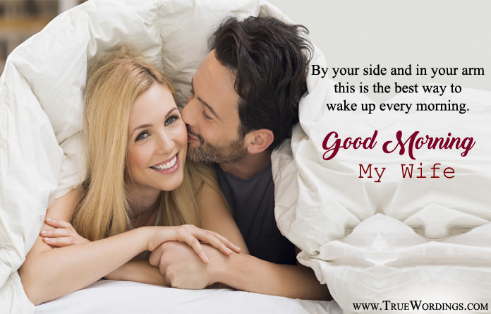 Romantic Good Morning Sayings for Wife