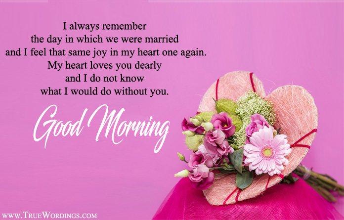 Gud morning lines for better half