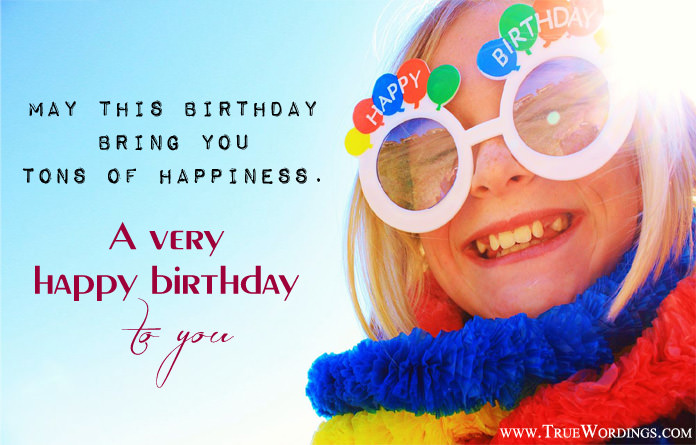 Prosperous Birthday Wishes Cute Images