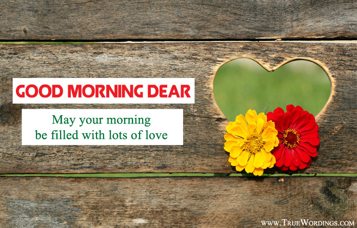 Simple Good Morning Love Sayings Wishes