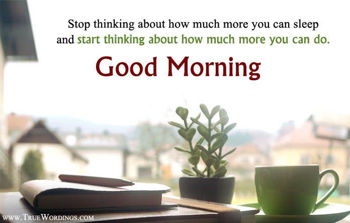 Inspirational Good Morning