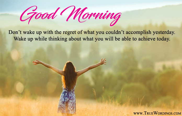 Inspirational Lines for Gud Morning