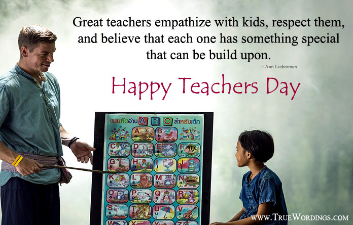Happy Teacher Day Quotes Images