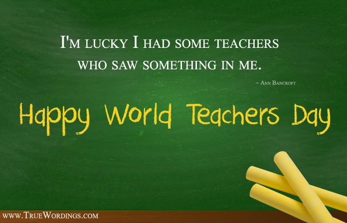 Happy World Teachers Day Images