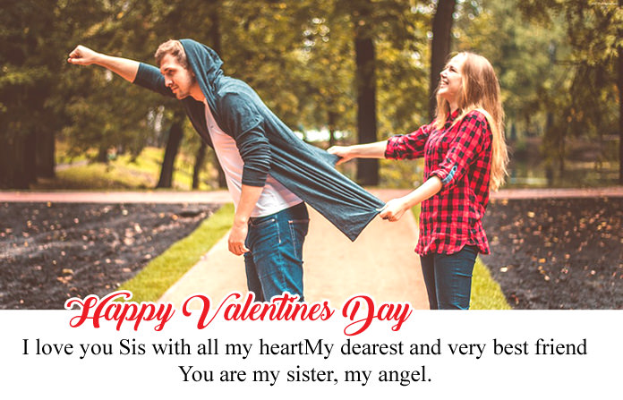 Happy Valentines Day Sister