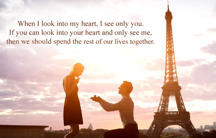 Will u marry me quotes