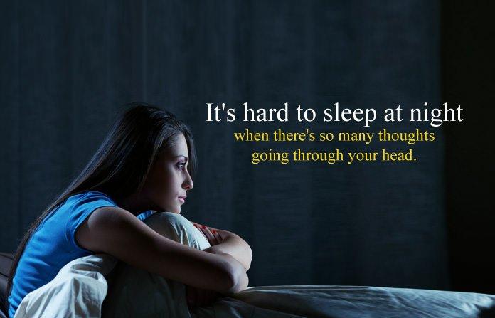 Sad Sleepless Night Status