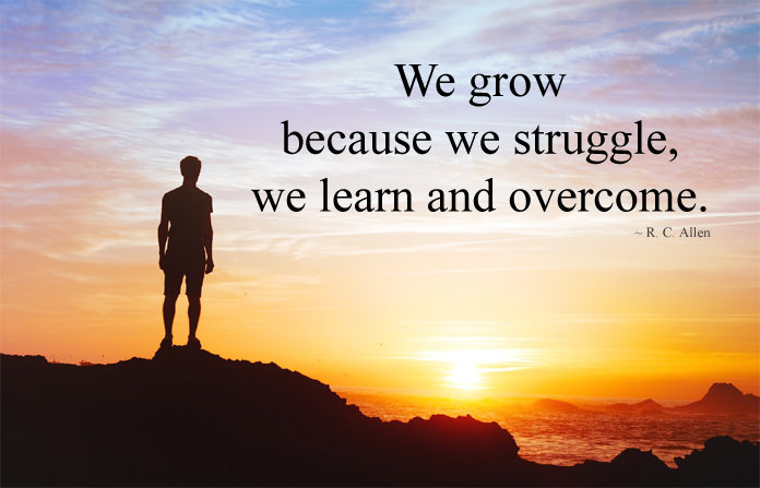 Life Inspirational Quotes about Struggle
