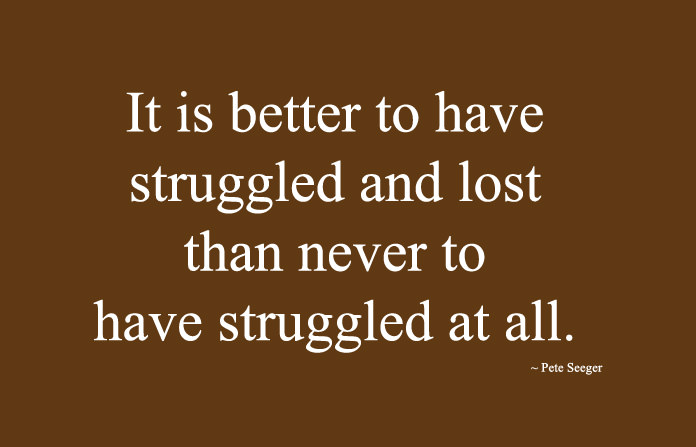 Positive Quotes about Life Struggles