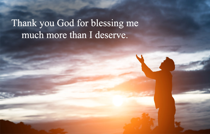 Thank You Lord Quotes for All Blessings