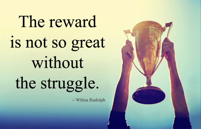 Wining Quotes about Life Struggles and Success
